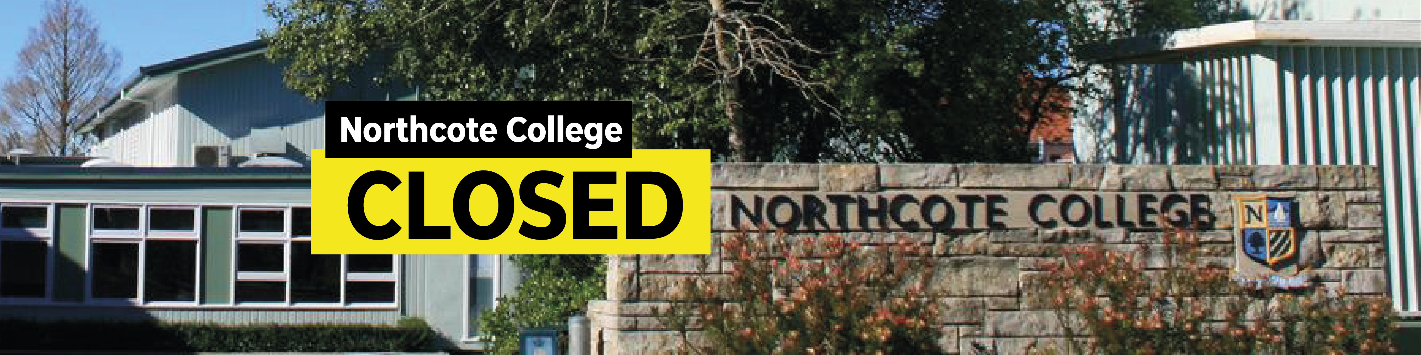 northcote college closed