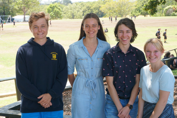 Northcote College head and deputy head students 2020
